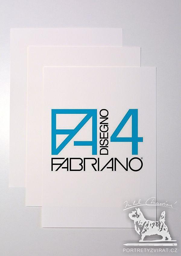 Papír Fabriano Disegno 4 smooth A3